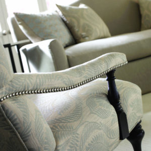 Designer Chair With Contemporary Fabric Eden Prairie Minnesota