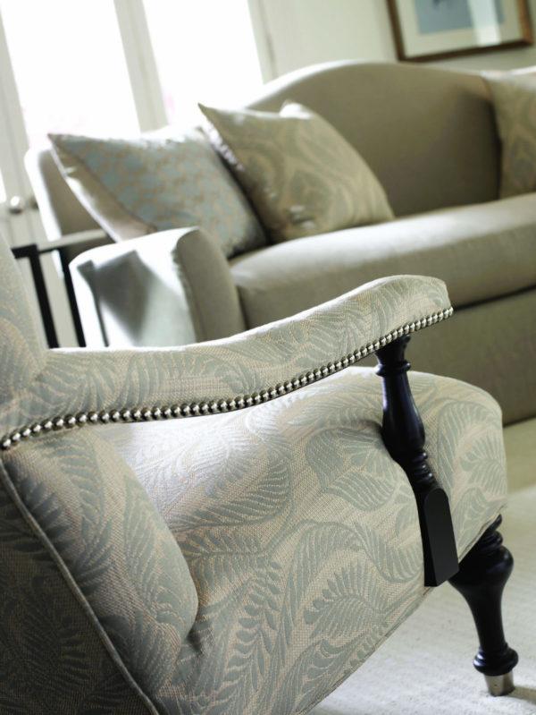 Designer Chair With Contemporary Fabric Eden Prairie Minnesota