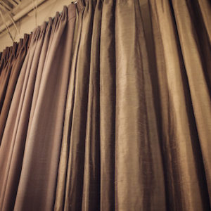 Custom Curtains and Draperies ​