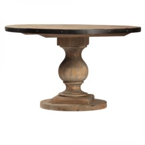Wood Emil Round Pedestal Table Eden Prairie Minnesota