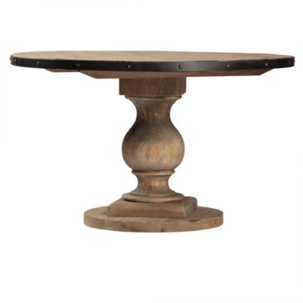 Wood Emil Round Pedestal Table Eden Prairie Minnesota