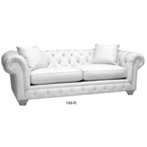 White Chester Sofa Eden Prairie Minnesota